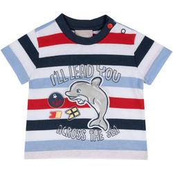 textil Niños Camisetas manga corta Chicco 09006876000000 Azul