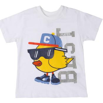textil Niños Camisetas manga corta Chicco 09006918000000 Blanco
