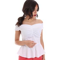 textil Mujer Tops / Blusas Gaudi 011FD45054 Blanco