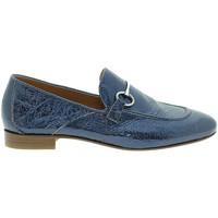 Zapatos Mujer Mocasín Mally 6105 Azul