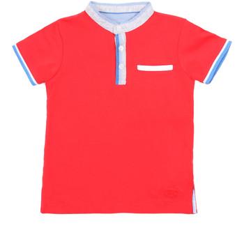 textil Niños Polos manga corta Losan 015-1791AL Rojo