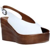 Zapatos Mujer Sandalias Bueno Shoes Q6100 Blanco