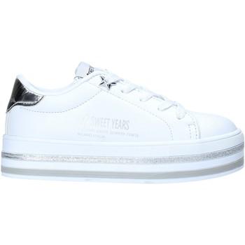Zapatos Niños Zapatillas bajas Sweet Years S20-SSK414 Blanco