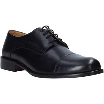 Zapatos Hombre Derbie Exton 6013 Negro