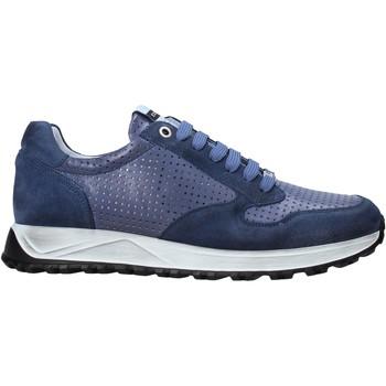 Zapatos Hombre Zapatillas bajas Exton 741 Azul