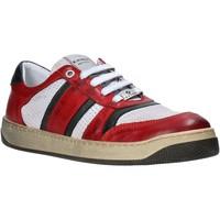 Zapatos Hombre Zapatillas bajas Exton 310 Rojo