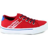 Zapatos Niños Zapatillas bajas Levi's VKIN0001T Rojo
