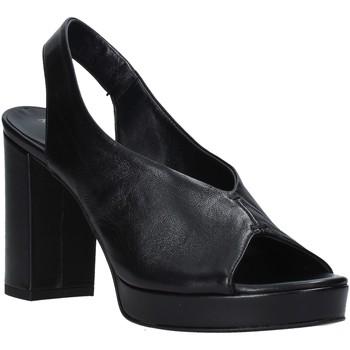 Zapatos Mujer Sandalias Mally 6843 Negro
