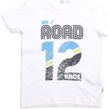 textil Niños Camisetas manga corta Melby 70E5544 Blanco