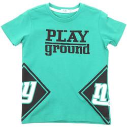 textil Niños Camisetas manga corta Melby 70E5544 Verde