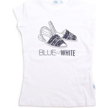 textil Niños Camisetas sin mangas Melby 70E5645 Blanco