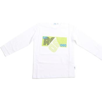textil Niños Camisetas manga larga Melby 70C5524 Blanco