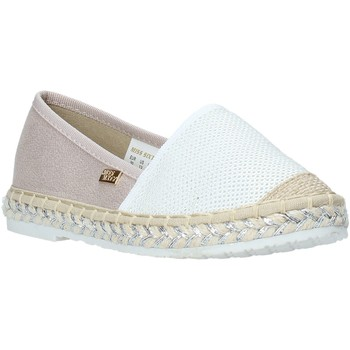 Zapatos Niña Alpargatas Miss Sixty S20-SMS704 Blanco