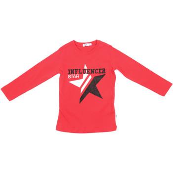 textil Niños Camisetas manga larga Melby 70C5615 Rojo