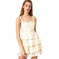 textil Mujer Vestidos cortos Liu Jo FA0312 T4190 Blanco