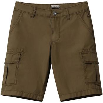 textil Niños Shorts / Bermudas Napapijri NP0A4E4G Verde