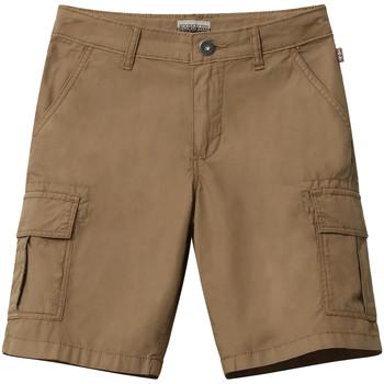 textil Niños Shorts / Bermudas Napapijri NP0A4E4G Marrón