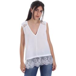 textil Mujer Tops / Blusas Gaudi 011FD45055 Blanco