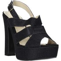 Zapatos Mujer Sandalias Esther Collezioni ELE 084 Negro