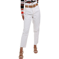textil Mujer Pantalones chinos Liu Jo WA0281 T6446 Blanco