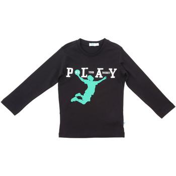 textil Niños Camisetas manga larga Melby 70C5524 Negro