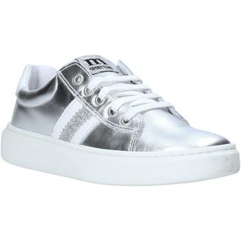 Zapatos Niños Zapatillas bajas Melania ME6271F0S.B Plata