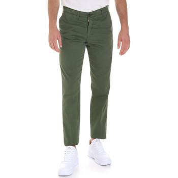 textil Hombre Pantalones chinos Les Copains 9U3320 Verde
