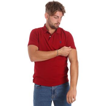 textil Hombre Polos manga corta U.S Polo Assn. 55957 41029 Rojo