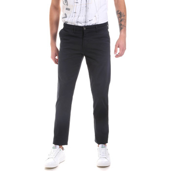 textil Hombre Pantalones chinos Les Copains 9U3320 Azul