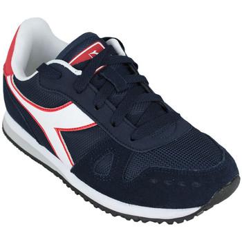 Zapatos Niños Running / trail Diadora simple run gs c1512 Azul