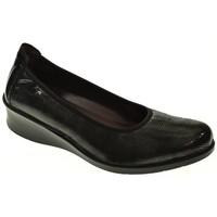 Zapatos Mujer Bailarinas-manoletinas Laura Azaña ZAPATO CUÑA  NEGRO Negro