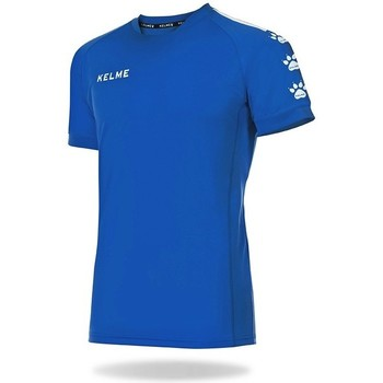 textil Camisetas manga corta Kelme Camiseta Lince Azul