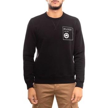 textil Sudaderas Klout FELPA ORGANIC BE KIND Negro