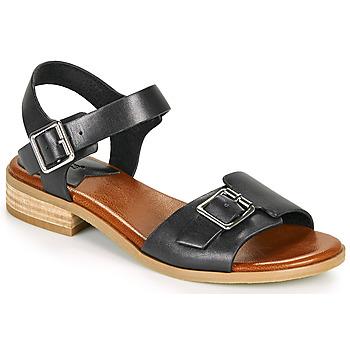 Zapatos Mujer Sandalias Kickers BUCIDI Negro