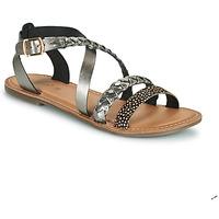 Zapatos Mujer Sandalias Kickers DIAPPO Bronce