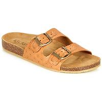 Zapatos Mujer Zuecos (Mules) Kickers ECOLOG Camel / Claro