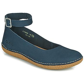 Zapatos Mujer Bailarinas-manoletinas Kickers HONNORA Marino