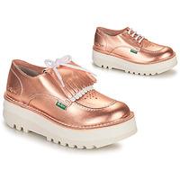 Zapatos Mujer Derbie Kickers KICKOUCLASS Rosa / Metal