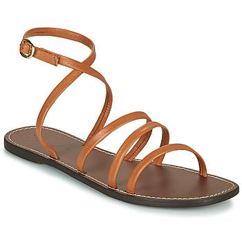 Zapatos Mujer Sandalias Kickers KICKNICE Camel