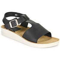 Zapatos Mujer Sandalias Kickers ODILOO Negro