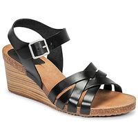 Zapatos Mujer Sandalias Kickers SOLYNIA Negro