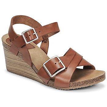 Zapatos Mujer Sandalias Kickers SPAINSTRAP Marrón