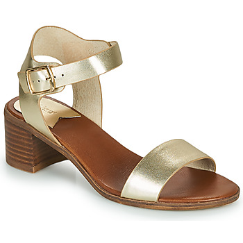 Zapatos Mujer Sandalias Kickers VOLOU Dorado