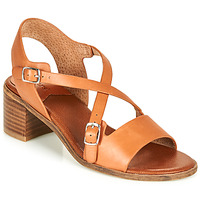 Zapatos Mujer Sandalias Kickers VOLUBILIS Camel