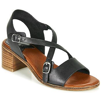 Zapatos Mujer Sandalias Kickers VOLUBILIS Negro