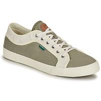 Zapatos Hombre Zapatillas bajas Kickers ARVEIL Kaki / Blanco