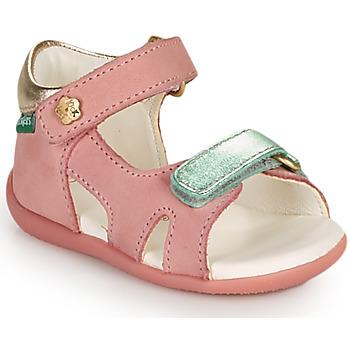 Zapatos Niña Sandalias Kickers BINSIA-2 Rosa