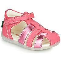 Zapatos Niña Sandalias Kickers BIGFLO-2 Rosa