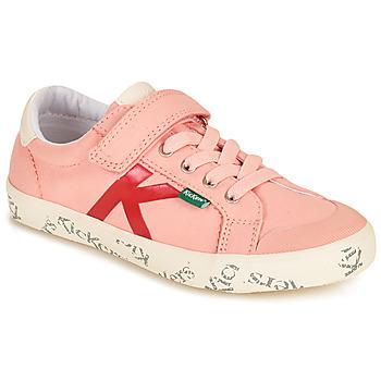 Zapatos Niña Zapatillas bajas Kickers GODY Rosa