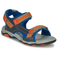 Zapatos Niño Sandalias Kickers KIWI Azul / Naranja